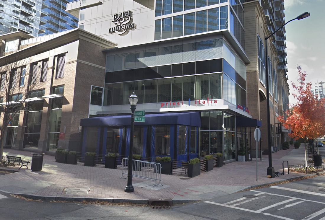 Princi Italia - 77 12th - Midtown Atlanta Closed