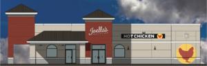 Joella's Hot Chicken Rendering