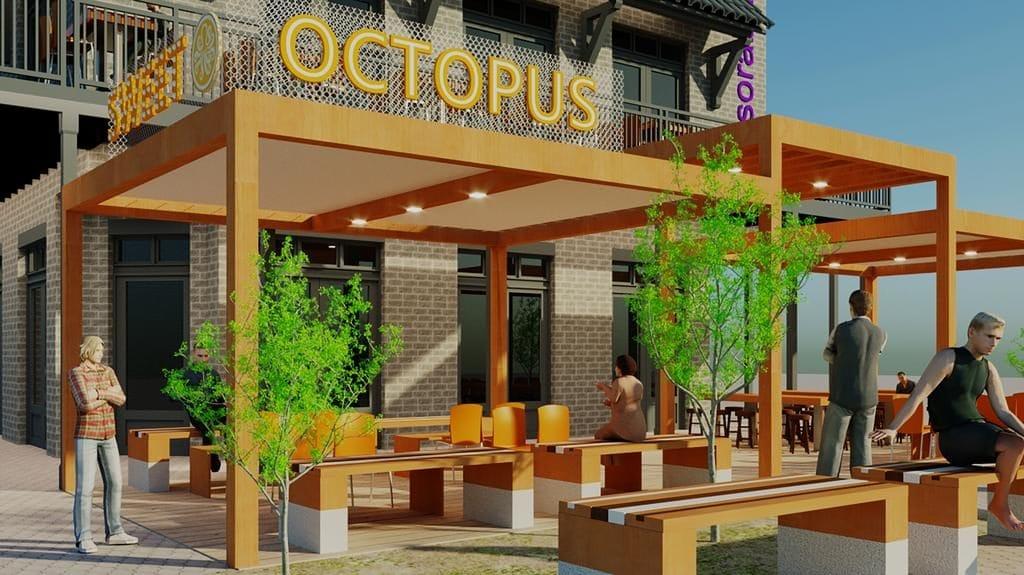 Sweet Octopus - Rendering