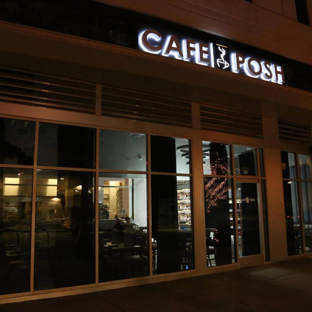 Cafe Posh - Hanover Village Buckhead - Reopening