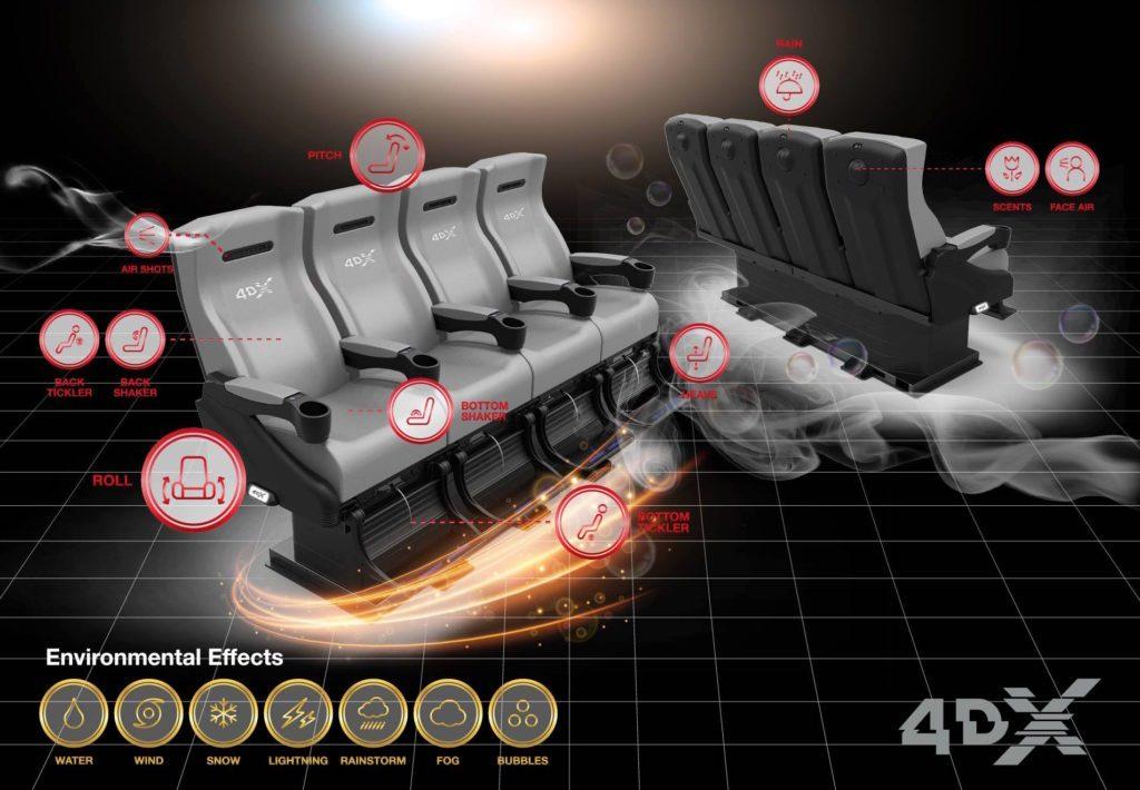 4DX Regal Cinemas