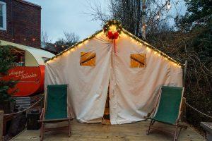 Ladybird Mess Hall Eastside Beltline Base Camp Tents