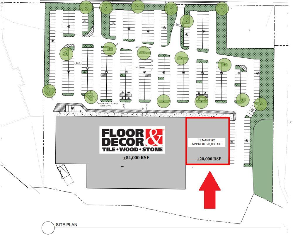 Planet Fitness The Atlantic Shopping Center Kirkwood Site Plan