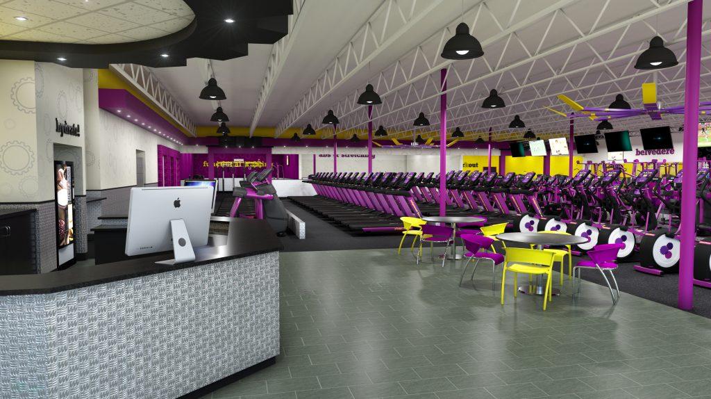 Planet Fitness Belvedere Cardio Lobby