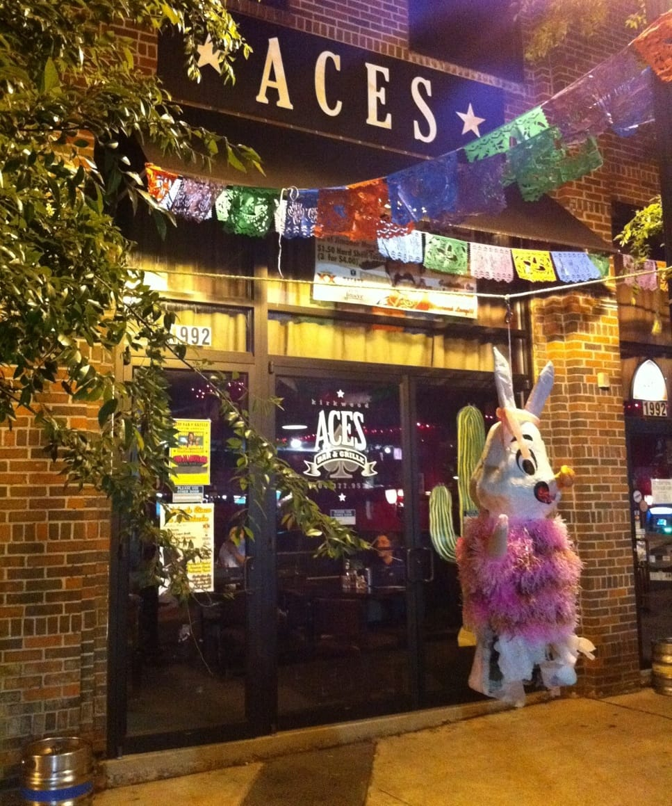 aces bar and grille ~ what now, atlanta?