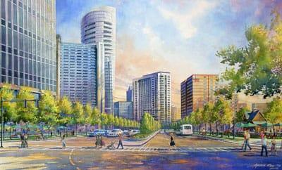 peachtree boulevard transformation ~ what now atlanta