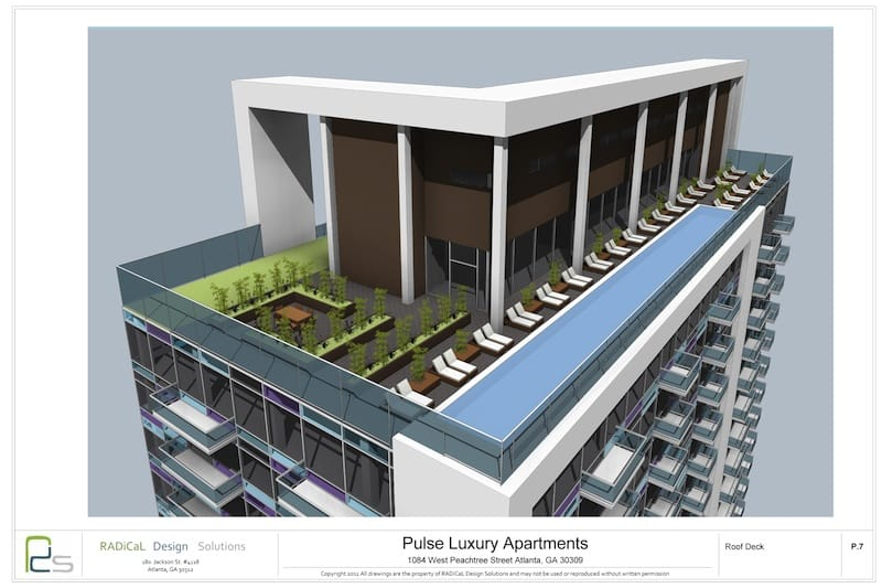 Pulse Luxury Apartments Roof Deck ~ what now atlanta