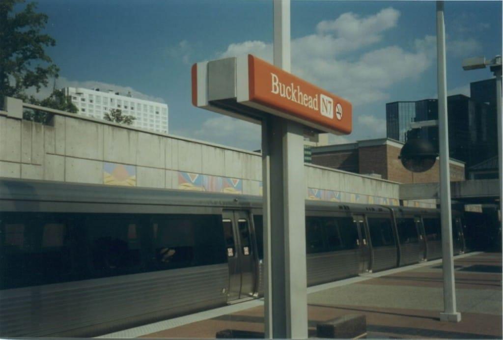 Marta Buckhead Station ~ What Now Atlanta