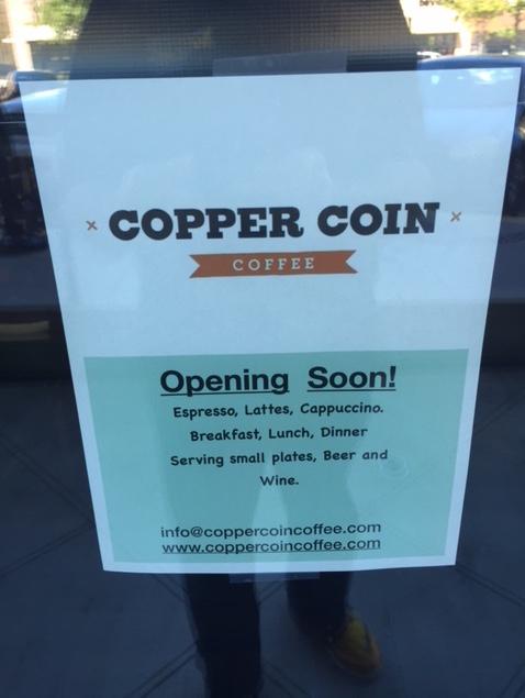 copper coin coffee