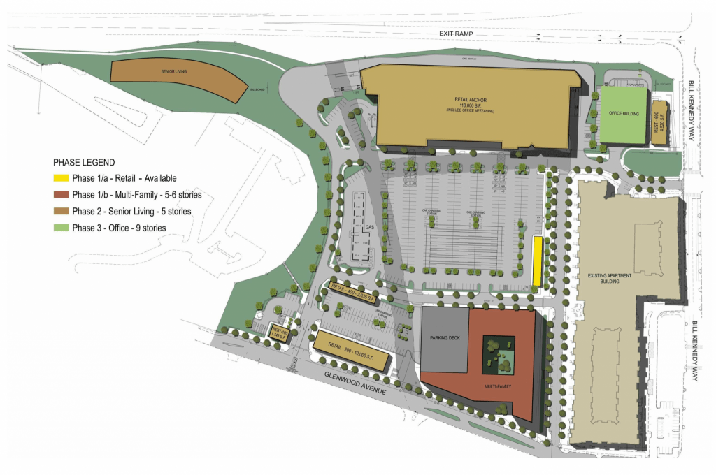 Glenwood Place Site Plan