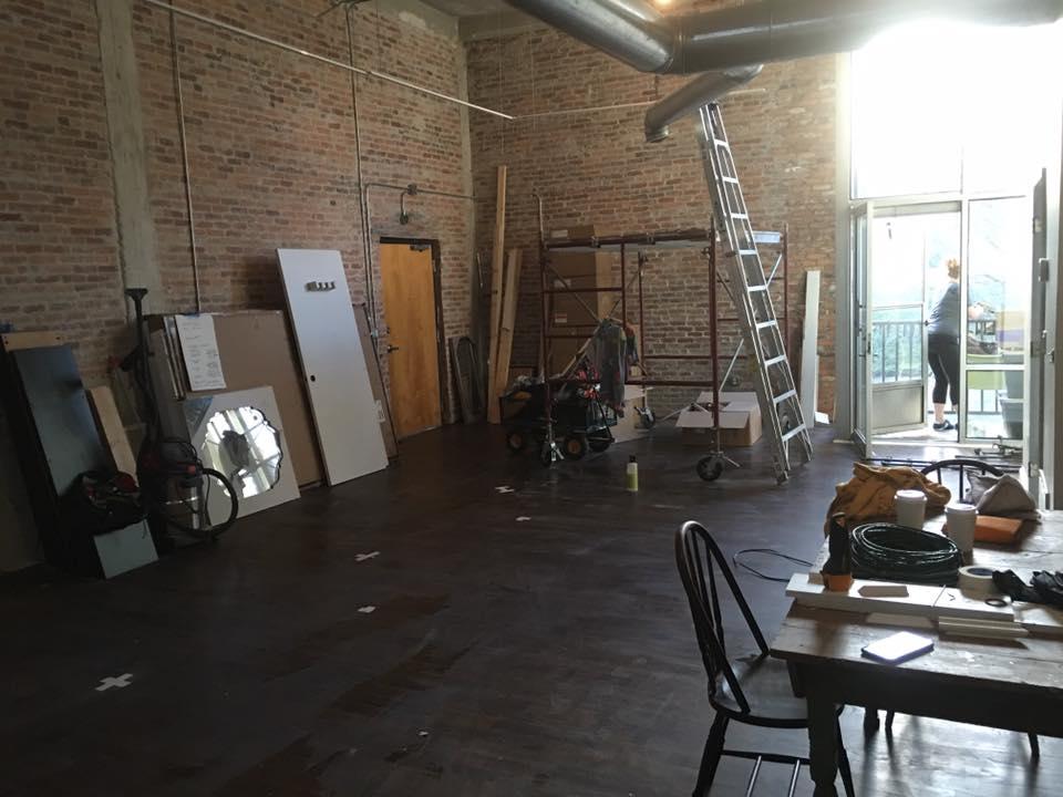 Future home of Circus Hair Studio.