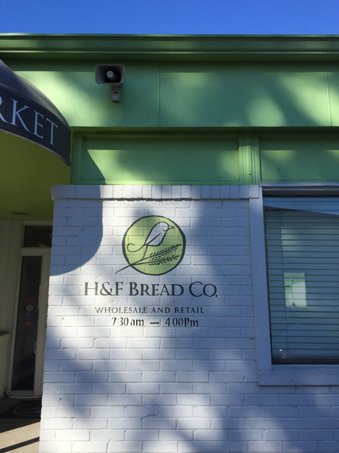 The current H&F Bread Co. location.