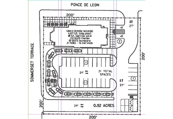 Poncey Highland To Get Chick Fil A Clermont Renovations Plans Filed What Now Atlanta