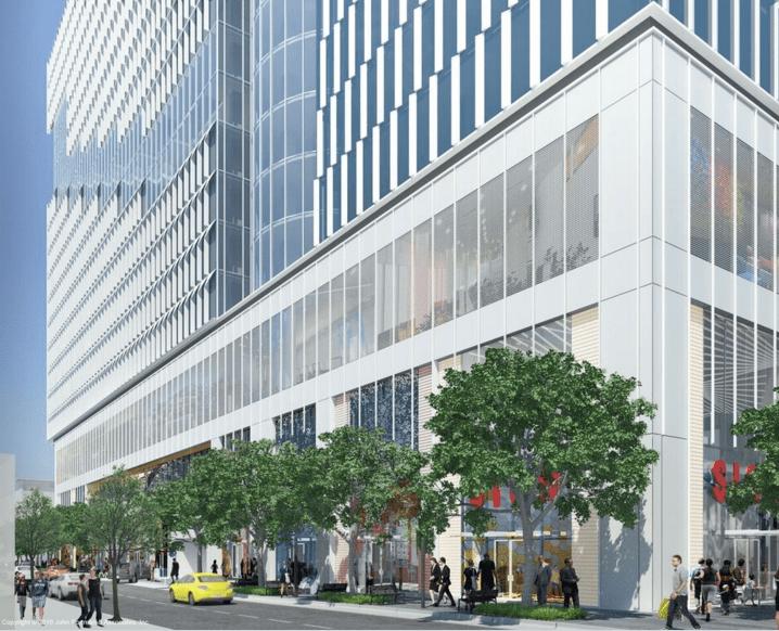 Retail Southeast Corner (c) John Portman & Associates