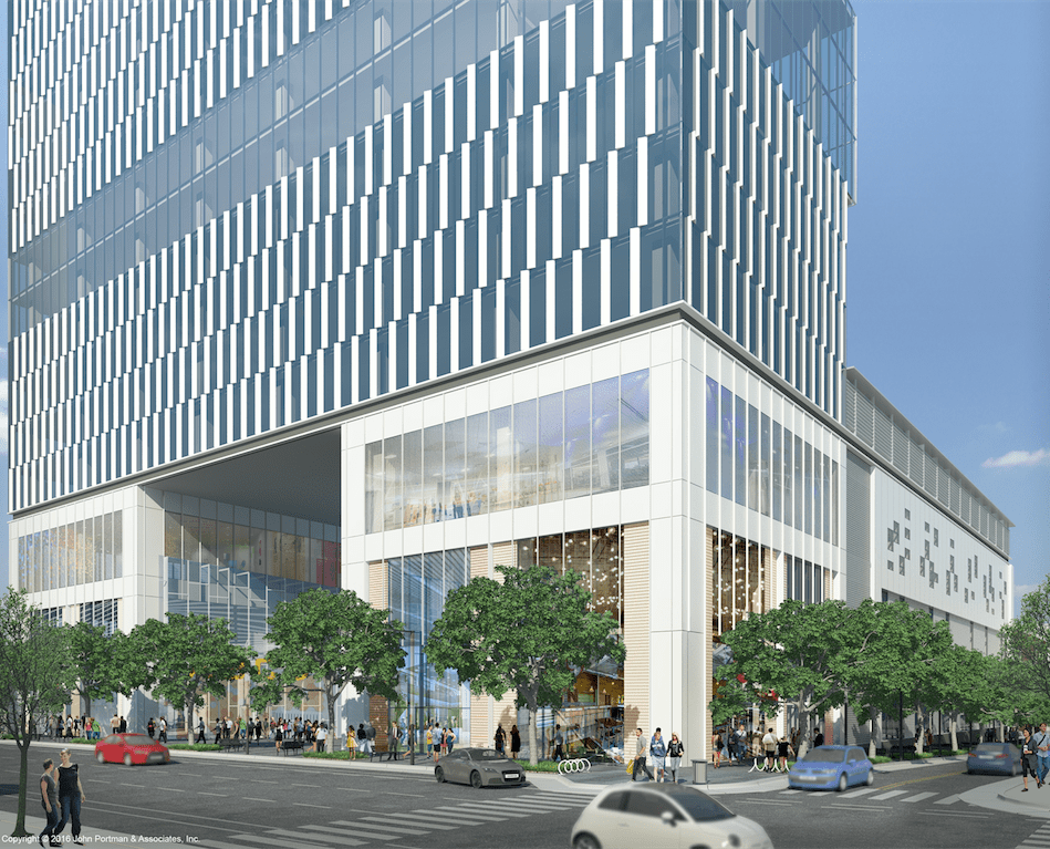 Retail Northeast Corner (c) John Portman & Associates