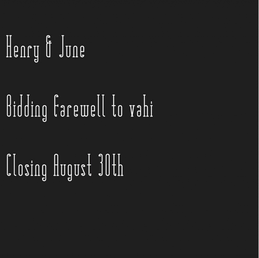 Henry & June - Atlanta