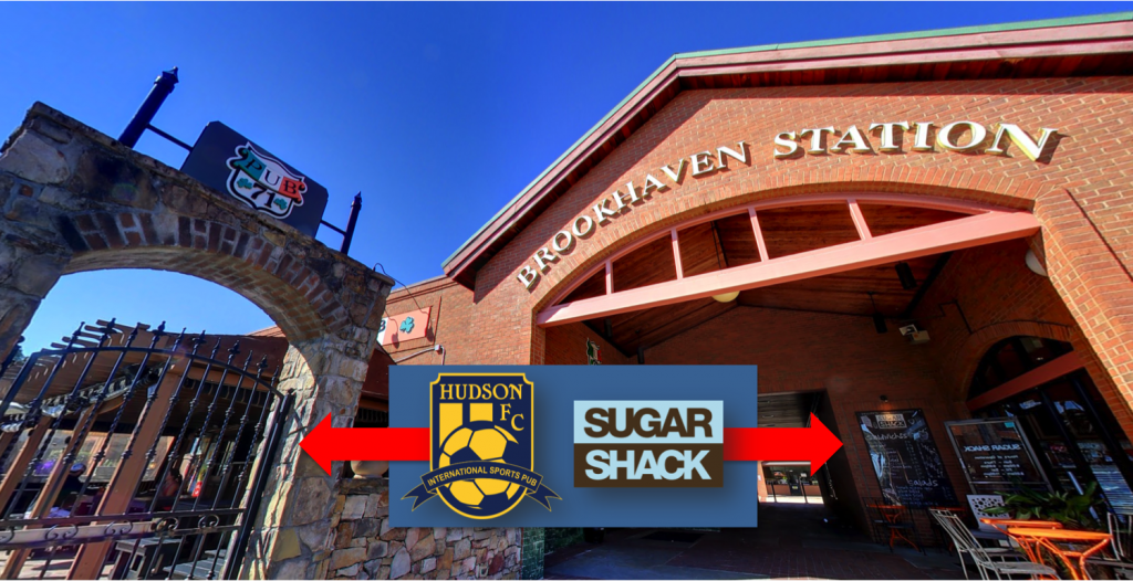 Hudson FC - Brookhaven Station Shopping Center