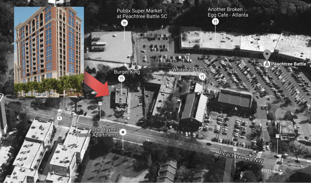 Peachtree Battle High Rise - Branch Properties