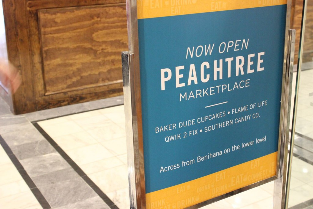 Peachtree Marketplace Pop-Up Retail Concept