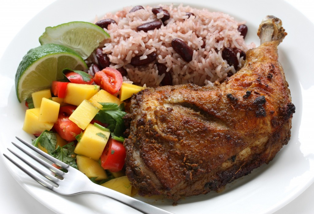 Festivals Jerk Chicken Grill - Jerk Chicken