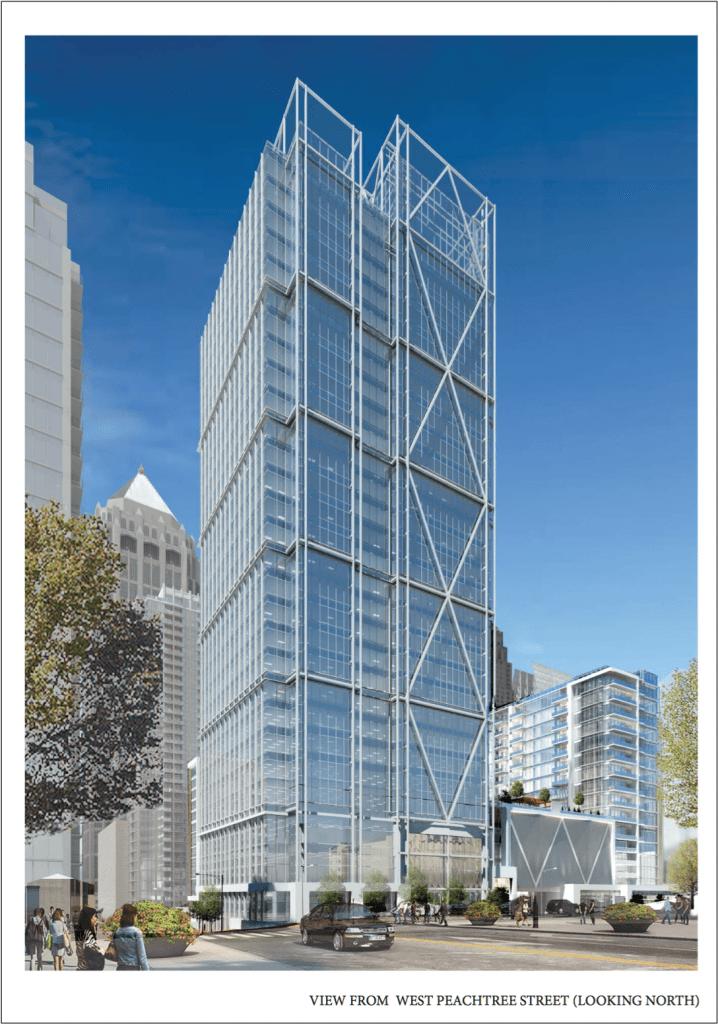 Selig Enterprises - 1105 West Peachtree Rendering