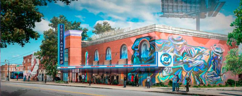 Sweet Auburn Ballroom - Invest Atlanta