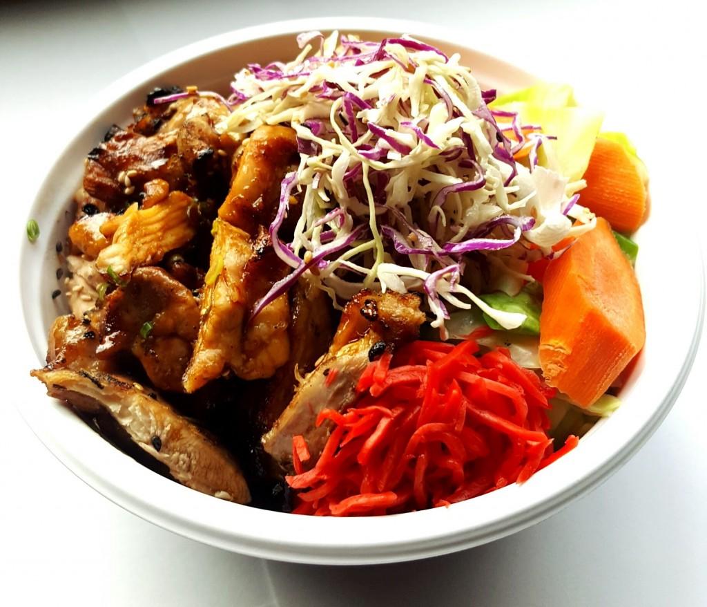 Chicken Teriyaki Bowl - Makimono