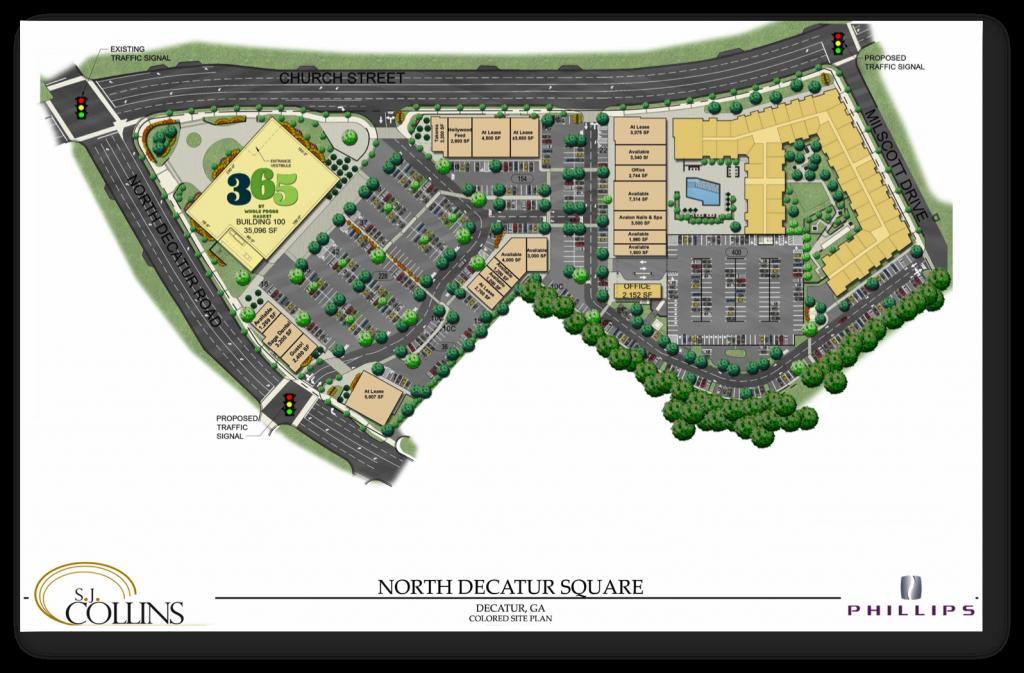 North Decatur Square Site Plan