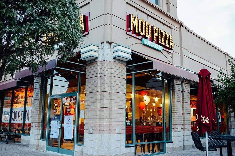 MOD Pizza Storefront