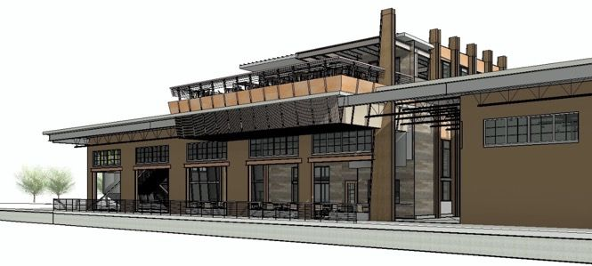New Realm Brewing Company - Rendering