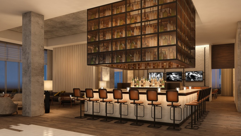 Rendering of Hickory & Hazel Southern Table and Bar courtesy of Rottet Studio.