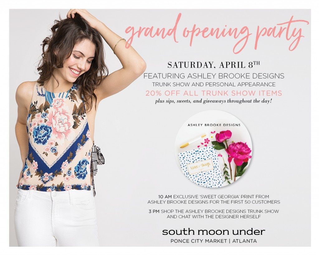 South Moon Under - Ponce City Market - Grand Opening Party