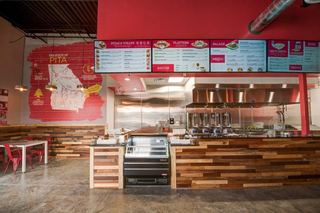 Pita Mediterranean Street Food - Interior 2 - Columbus Georgia