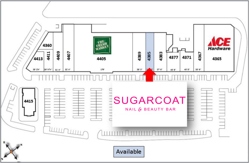 Sugarcoat - Site Plan