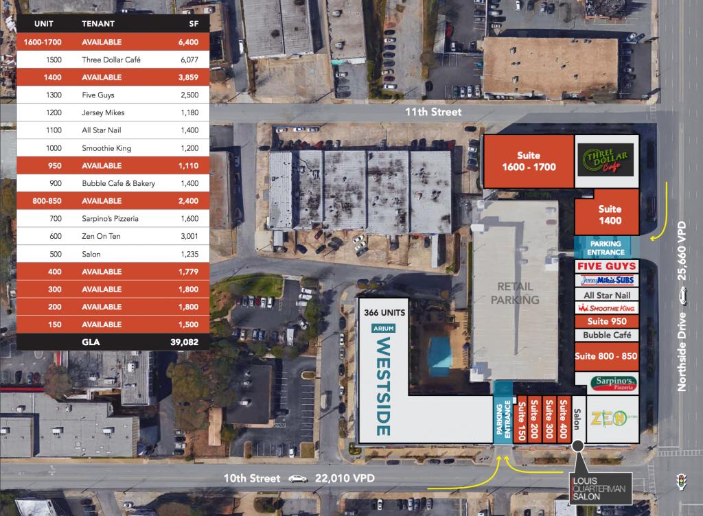 Arium Westside - Circle Poke - Site Plan