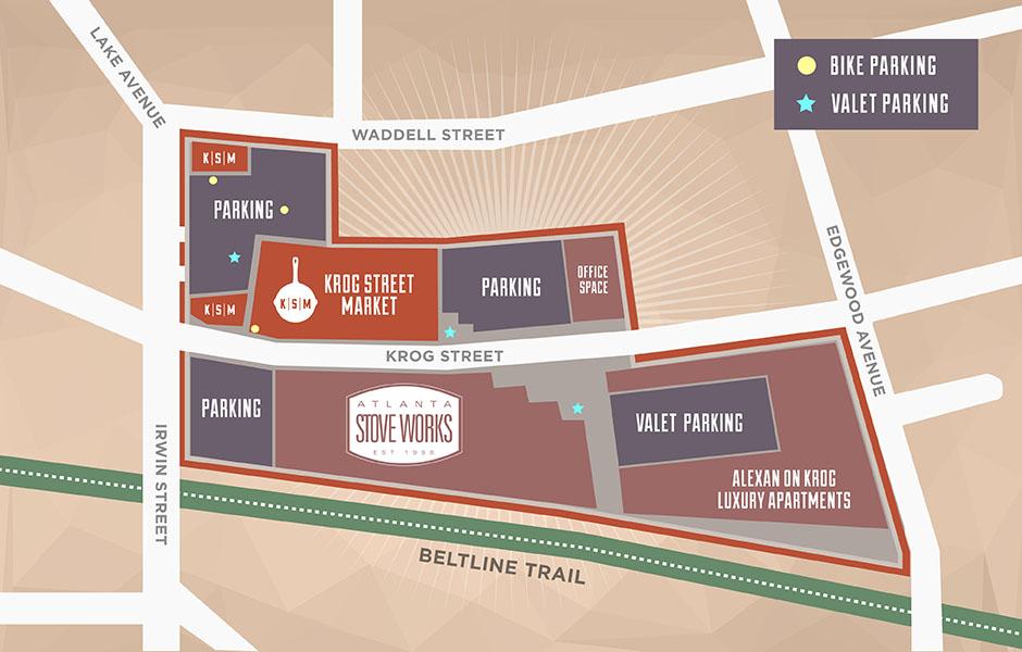 Atlanta Beltline - Stove Works - Site Plan