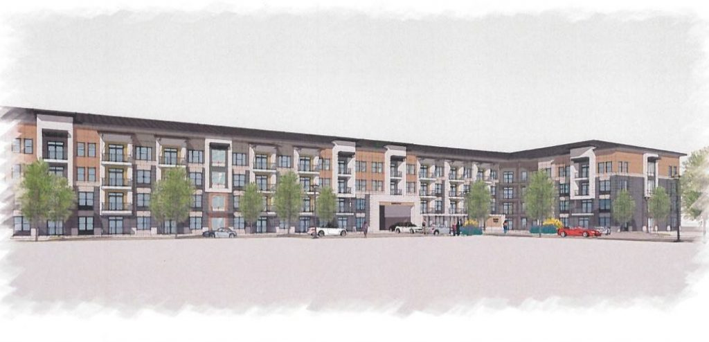 Westplan - Spring Road Mixed-Use Rendering 1