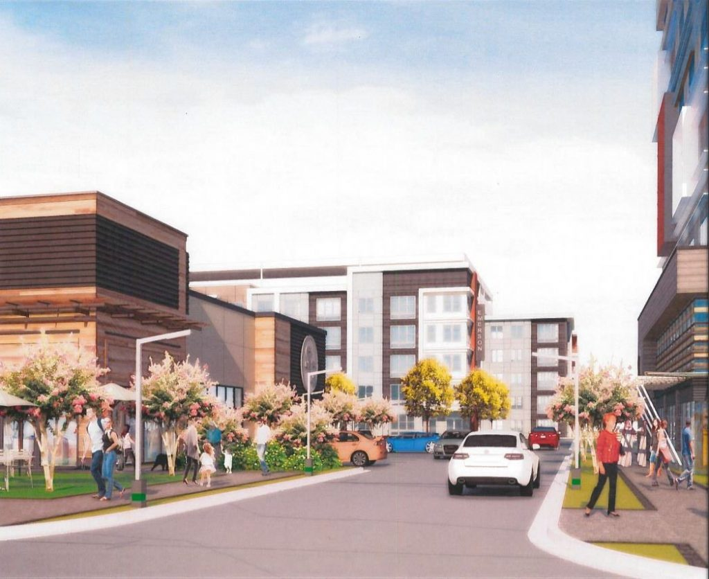 Westplan - Spring Road Mixed-Use Rendering 2