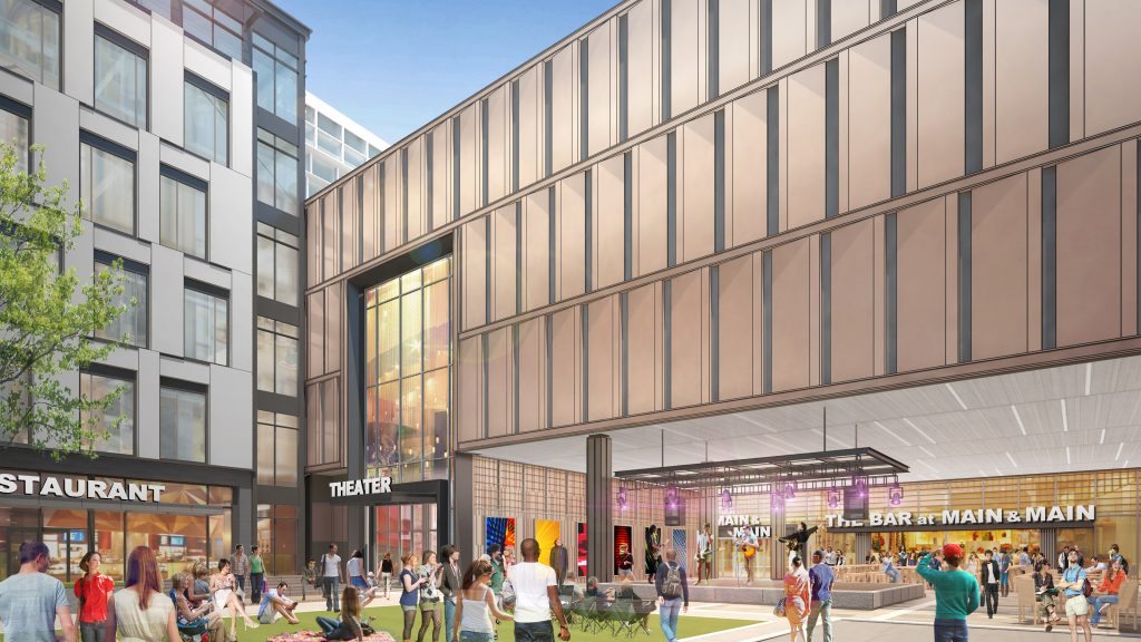 Colony Square - Food Hall Plaza Rendering