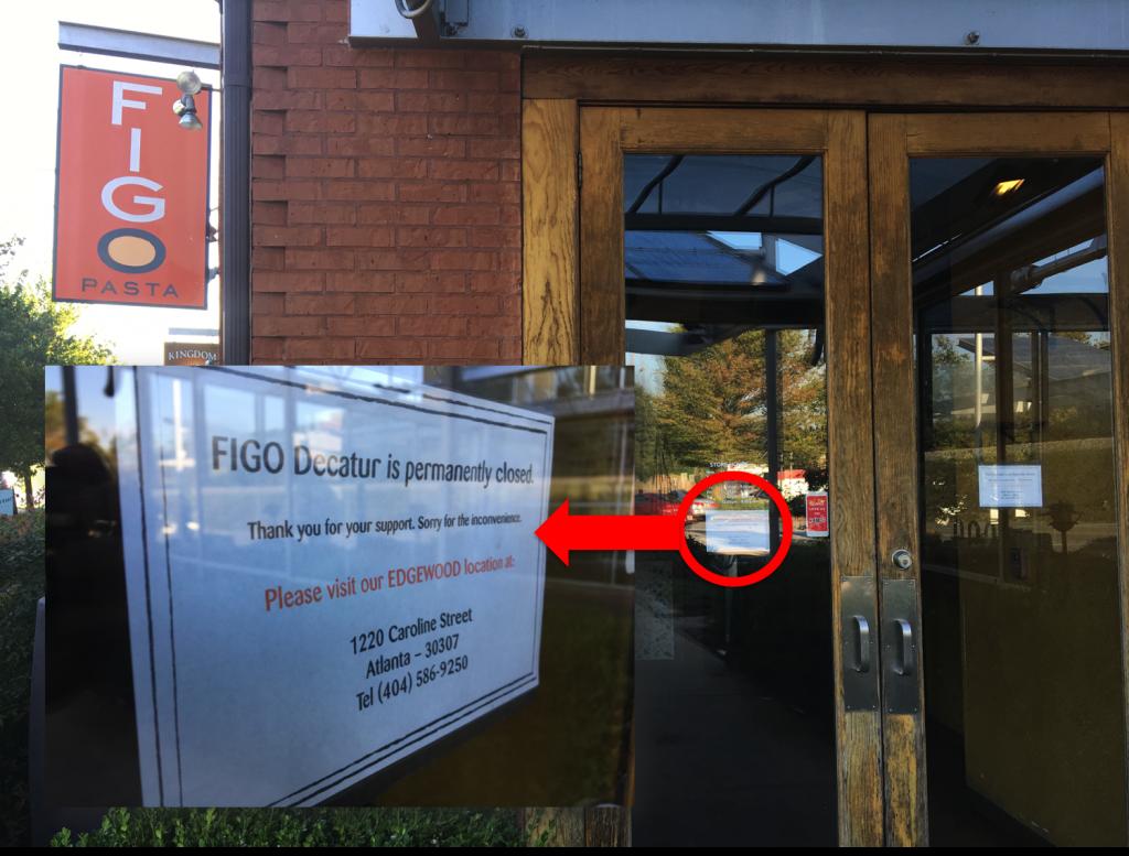 Figo Pasta - Decatur - Closed