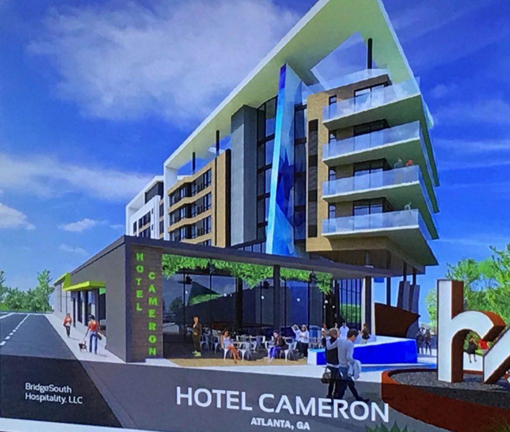 Hotel Cameron - Atlanta - Rendering 2