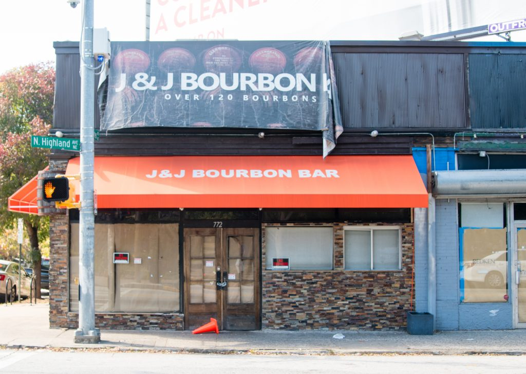 J&J's Bourbon Bar Closed