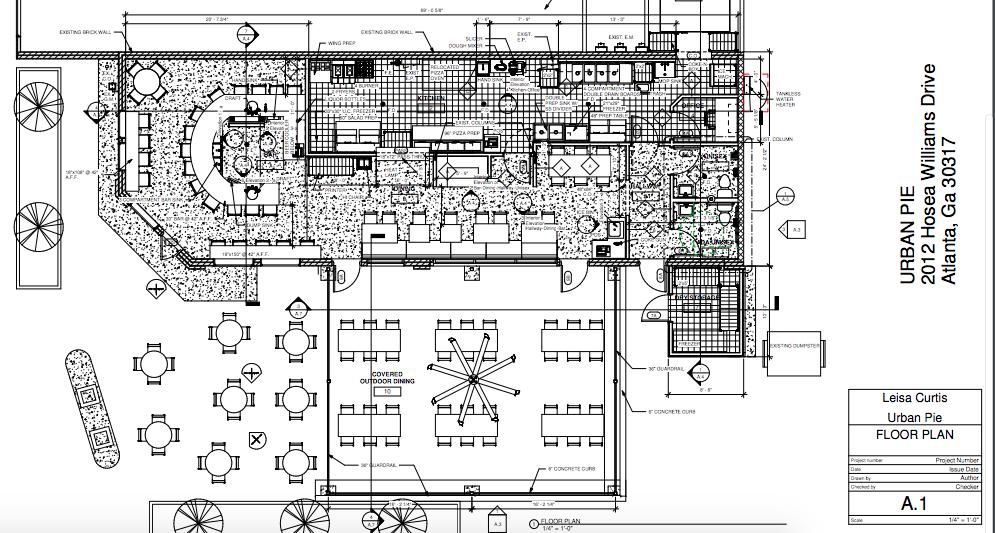 Urban Pie Floor Plan