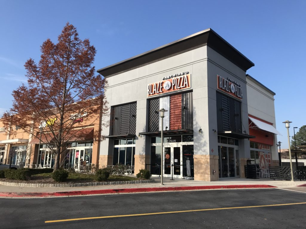 Blaze Pizza Akers Mill Square