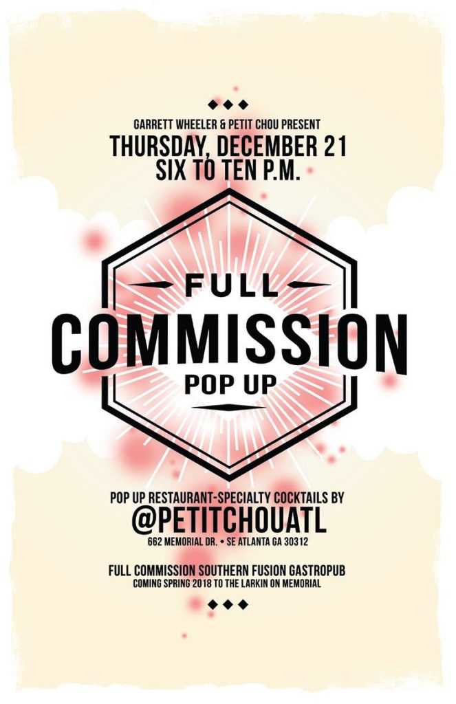 Full Commission Pop-Up
