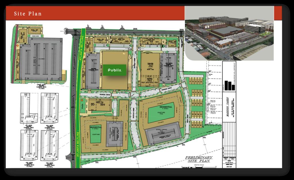 Madison Yards - Site Plan