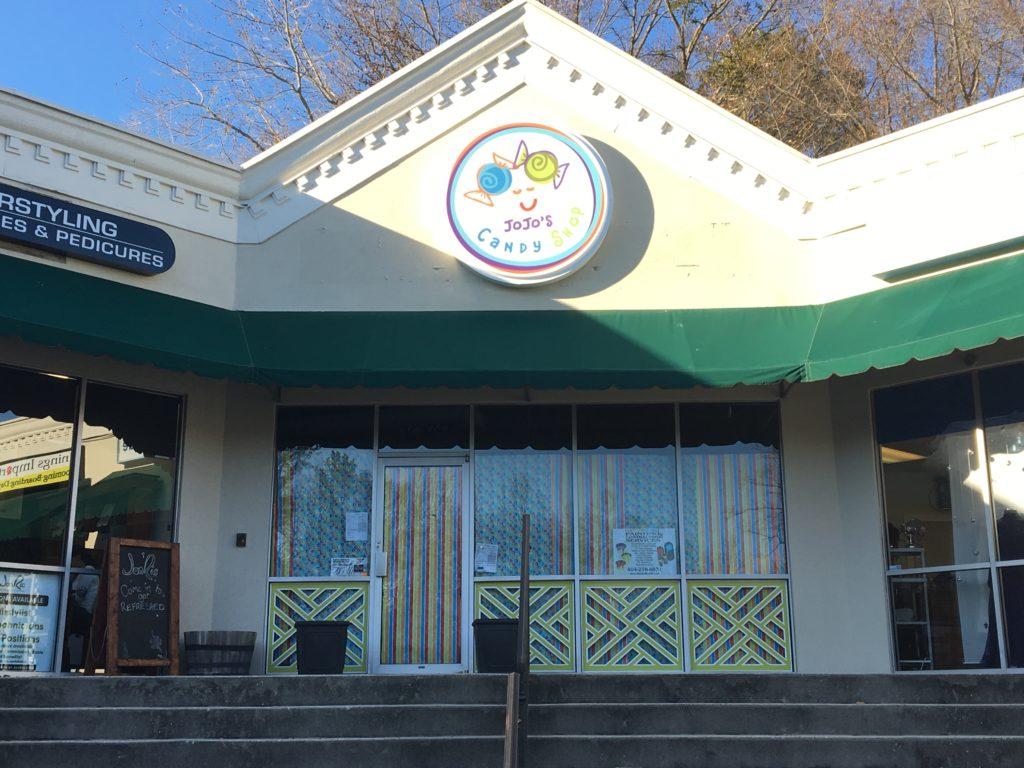 JoJo's Candy Shop Storefront