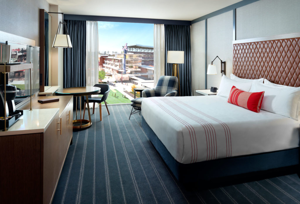 Omni Hotel at The Battery Atlanta King Guestroom