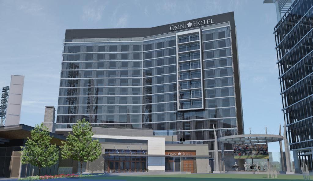 Omni Hotel at The Battery Atlanta Rendering 1