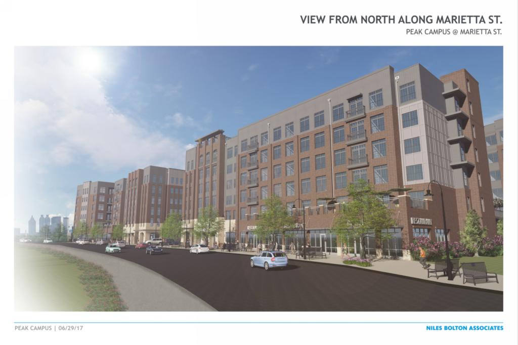 Theory West Midtown Rendering Updated - Peak Campus